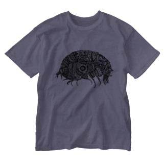 横蝦 Washed T-shirts