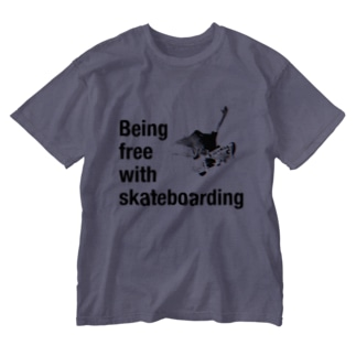 skatebording Washed T-shirts