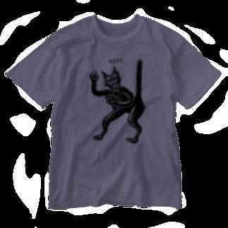 STUDIO KIKUCHIのネコ Washed T-shirts