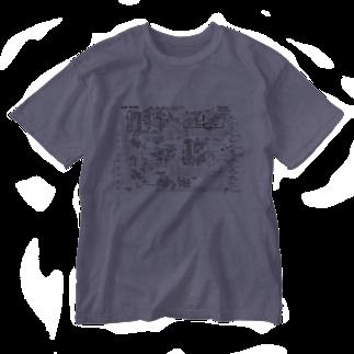 metawo dzn【メタをデザイン】のTB-303 回路図 Washed T-shirts