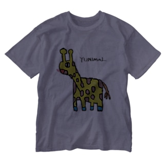 マサイキリン Washed T-shirts