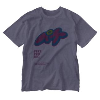 ペケプロオフィシャル Washed T-shirts