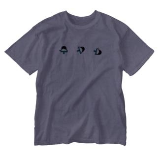 オスモウペンギン Washed T-shirts