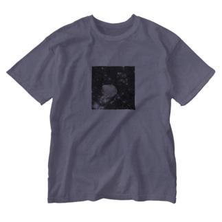 海と貝と Washed T-shirts