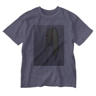 泣き虫女の子 Washed T-shirts
