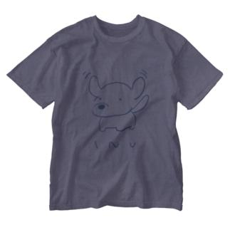 とんじゃういぬ Washed T-shirts
