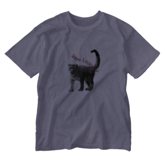 SnowLeopard Washed T-shirts
