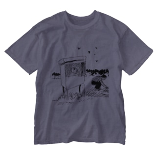 小屋 Washed T-shirts