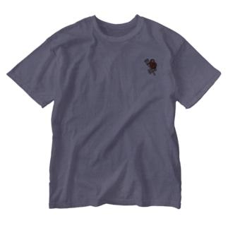 さるのこしかけ Washed T-shirts