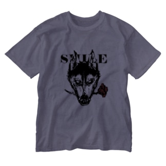 置物置きのnoctiluca city -smile- Washed T-shirts