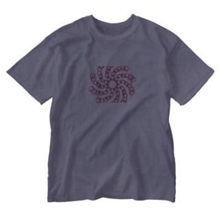 トルネード・チェーン Washed T-shirts