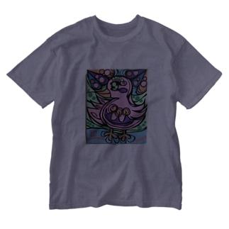 ピンキー Washed T-shirts