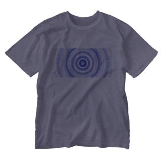 江戸切子風 Washed T-shirts