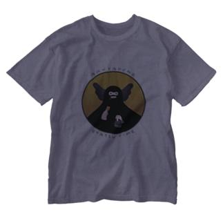 あくやくのおやつタイム Washed T-shirts