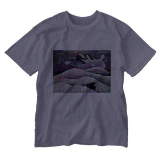 yamanokami Washed T-shirts