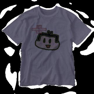 カエルの部屋のガマグチサン Washed T-shirts