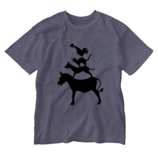 ブレーメン Washed T-shirts