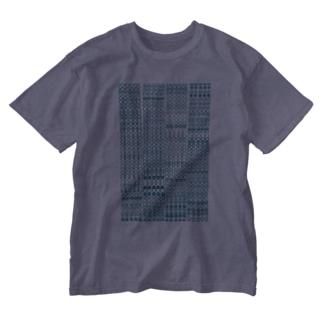 水玉ぼけ Washed T-shirts