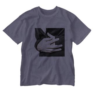 お腹いたい Washed T-shirts