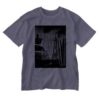 白黒確定版 Washed T-shirts