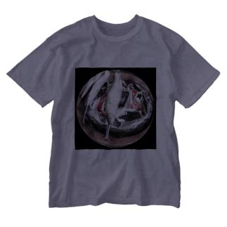 鮎の塩焼き Washed T-shirts
