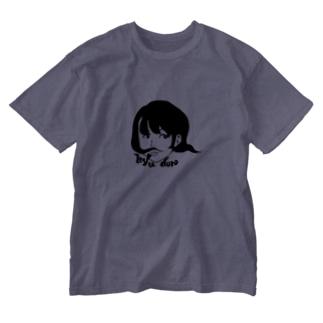 ひゅーどろちゃん Washed T-shirts