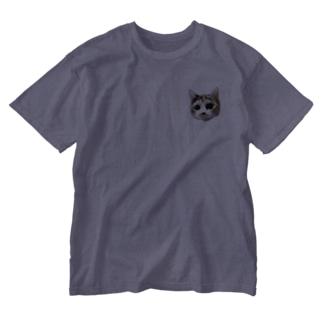 こま Washed T-shirts