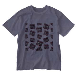 💜 . .花凛. . 💜のニキビ歯茎   缶バッジ Washed T-shirts