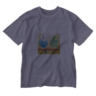 仲良しコンビ Washed T-shirts