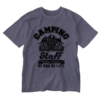 CAMPING STAFF Washed T-shirts