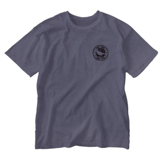文鳥と稲穂 Washed T-shirts