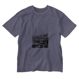 ra in my town Washed T-shirts