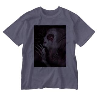 病理カプリチオ Washed T-shirts