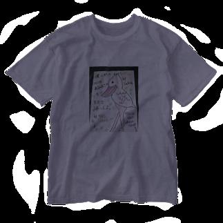 サクアンドツバミルヨシの僕にだって心はあるのだ Washed T-shirts