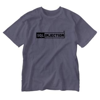 SQL INJECTION Washed T-shirts