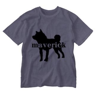 maverick犬 Washed T-shirts