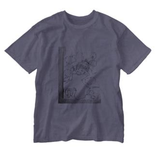 魔法のコトバ Washed T-shirts