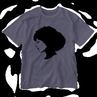 zukkyzukkyのGIRL Washed T-shirts