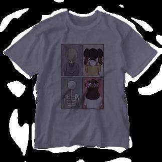 Cocohashop*の背中 Washed T-shirts