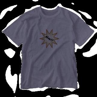 hato1217のHey!! Washed T-shirts