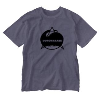 泥童団のシンボル Washed T-shirts