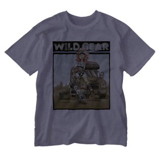 nidan-illustrationのWILD GEAR Washed T-shirts