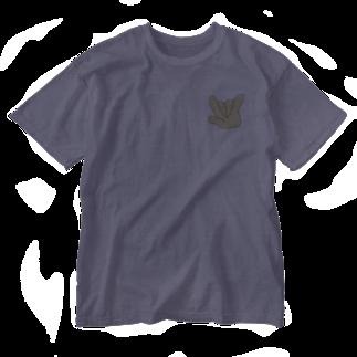 Shikirelのやっほい! Washed T-shirts