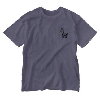 ミニきりんちゃん Washed T-shirts