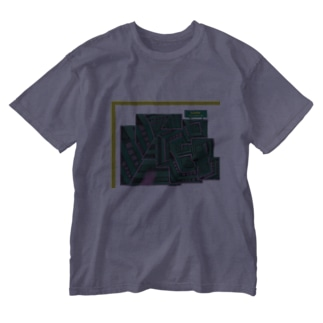 bourei house  in  rhythem city  Washed T-shirts