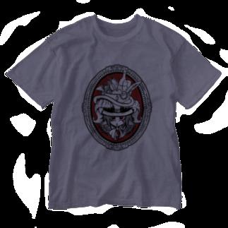 トンガリゴートの角っ子ちゃん Washed T-shirts