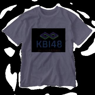 KBI48SHOPのKBI48ブラックタグバージョン Washed T-shirts