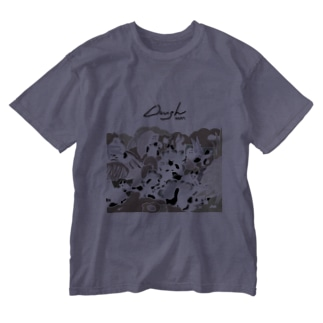 Doughグッズ Washed T-shirts