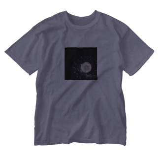 good nightの花火のかわいいところ Washed T-shirts