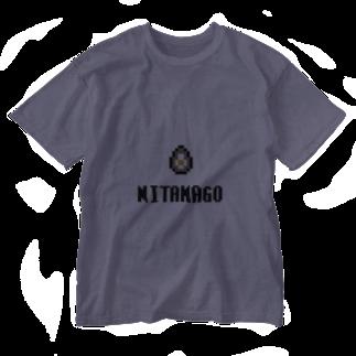 カットボスの煮玉子 Washed T-shirts